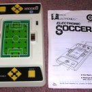 Vintage Handheld Electronic Soccer by Entex