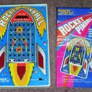 Vintage Handheld Electronic  Rocket Pinball by Tiger