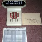 Vintage Scrabble Sensor Electronic Word Game 1978
