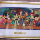 McDonald's Toy Story 2  Poster Toys Kid Around In Andy's Room