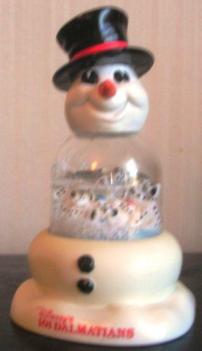 McDonalds 101 Dalmatians Snowglobe Snowman