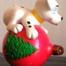 McDonalds 101 Dalmatians Dog on Red Christmas Ball