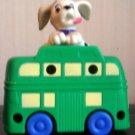 McDonalds 101 Dalmatians Dog Green Bus
