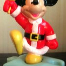 McDonalds Mickey Mouse  as Santa on Puzzle Base