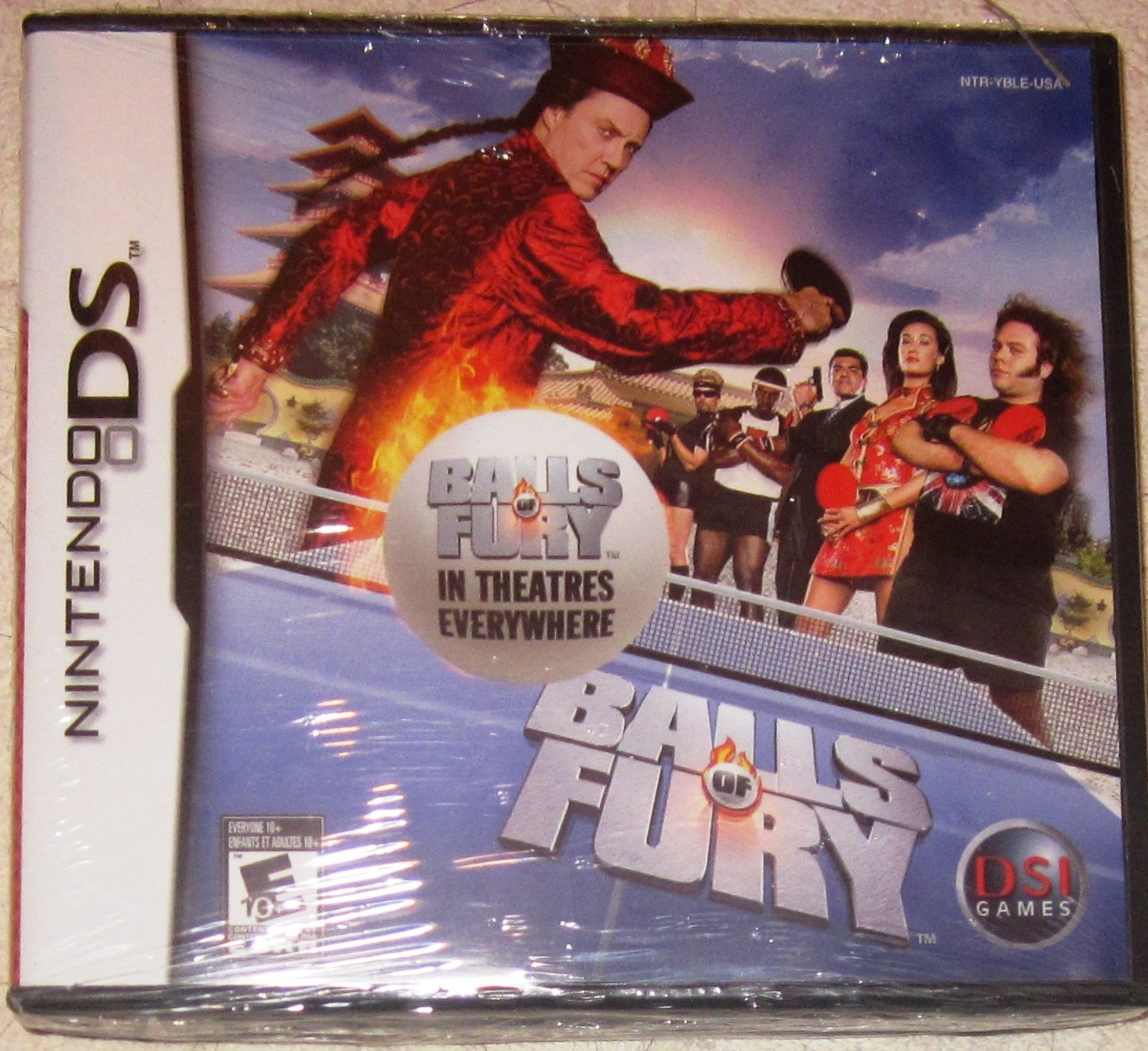 Nintendo DS Balls of Fury NDS