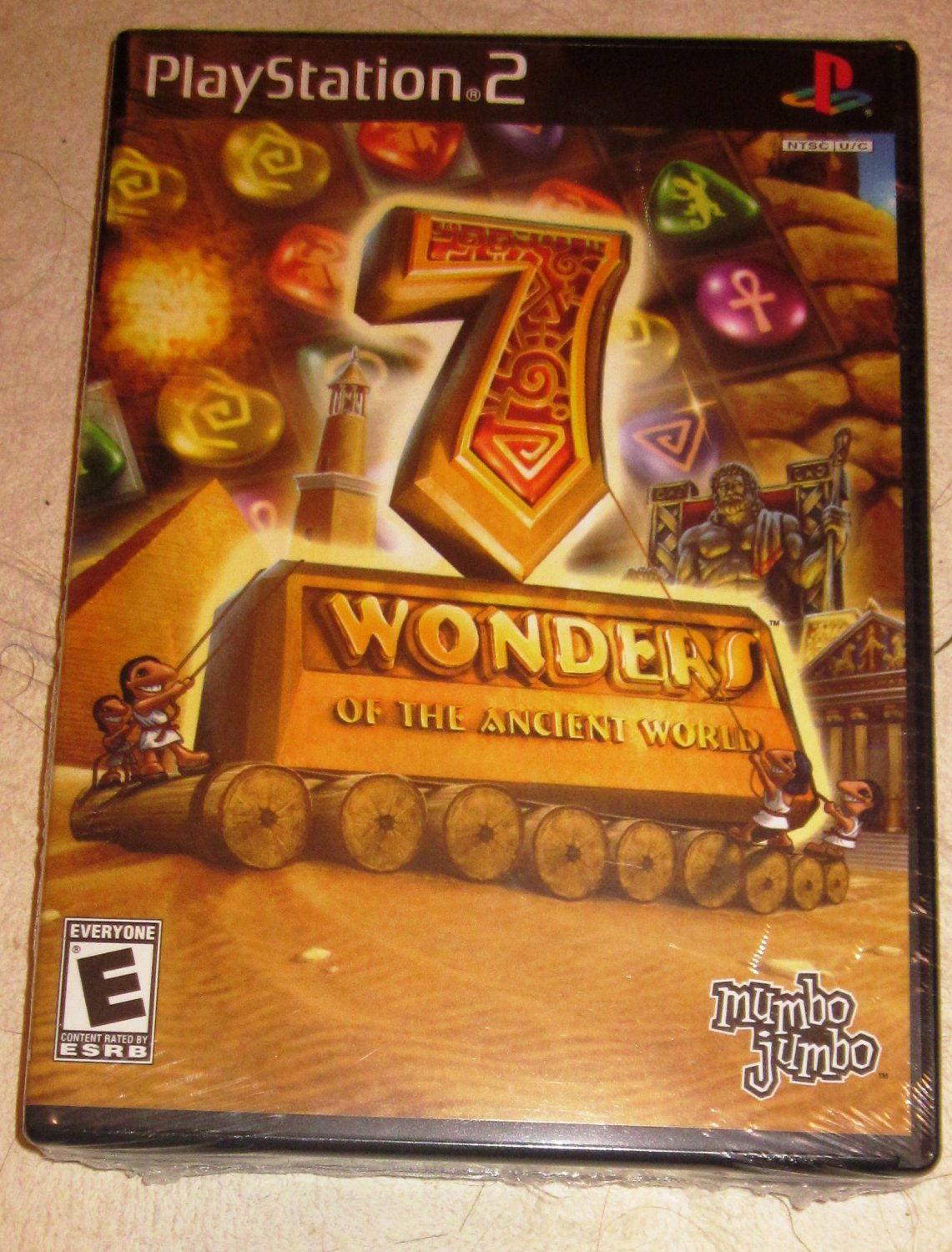 Playstation 2 7 Wonders of the Ancient World