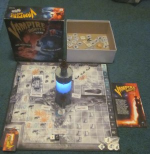 Vampire Hunter Board Game Milton Bradley