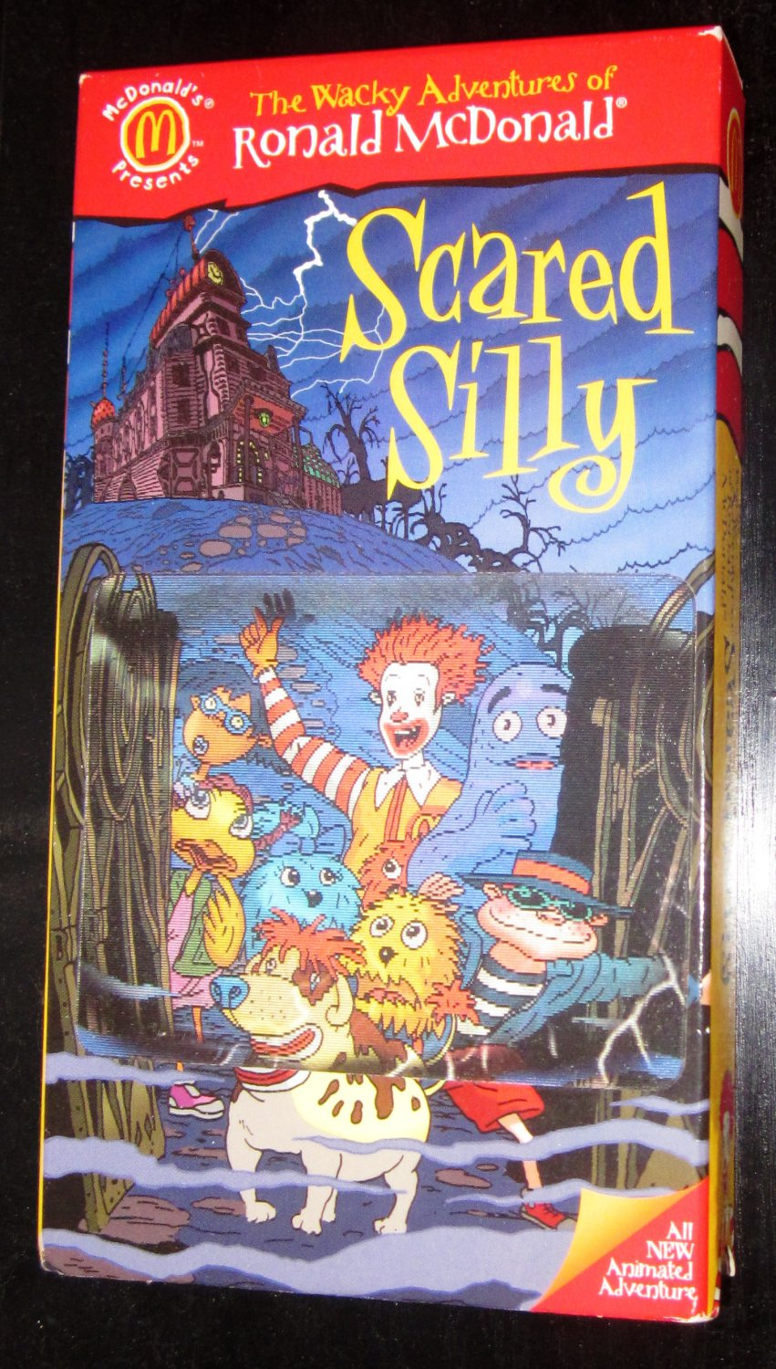 Wacky Adventures of Ronald McDonald Scared Silly VHS