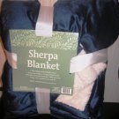Sherpa Blanket 60 X 50 Blue