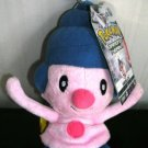 Pokemon Diamond Pearl Mime Jr Series 2 Beanie Plush Stuffed
