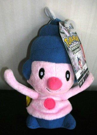 Pokemon Diamond Pearl Mime Jr Series 2 Beanie Plush Stuffed