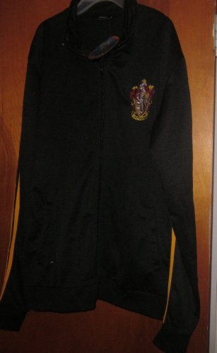 Harry Potter Gryffindor Crest Zippered Jacket Large