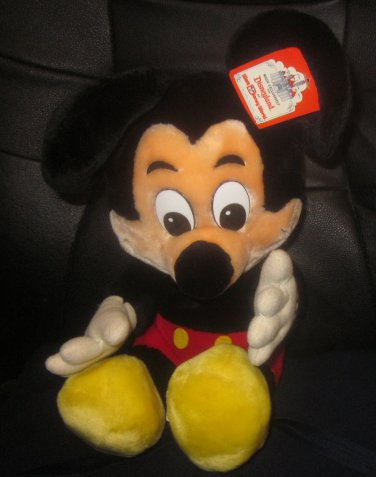 NWT Vintage Disneyland Mickey Mouse Plush
