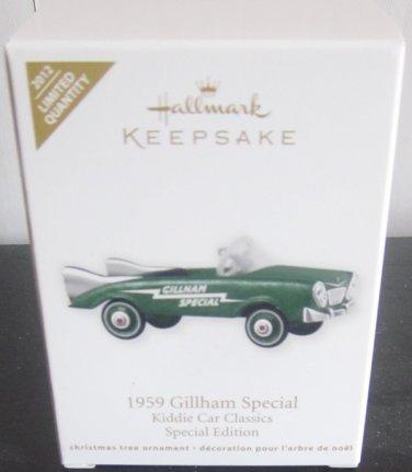 NIB Hallmark Keepsake Ornament 1959 Gillham Special Kiddie Car Classics Special Edition