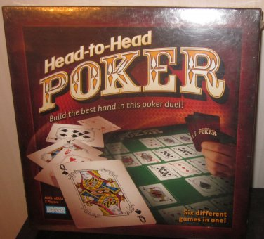 New Factory Sealed Head To Head Poker Parker Brothers