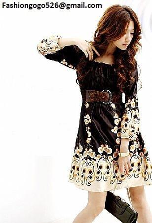 Pretty Silk Fabric Dress
