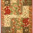 VO-1039 Traditional Floral Tuscan European Hand-Tuffted Rug 5 x 8