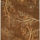 VO-812 Asian Floral Blossom Tree Hand-Tufted Rug 5 x 8