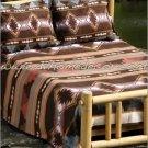 2PC Grecas Brown Geometric TWIN Fleece Bedding Set CBT0706