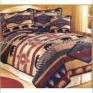 2PC Yuma Bear Southwest Jacquard TWIN  Bedding ERCBT-yumabear