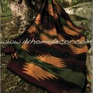 Southwestern Santa Cruz Geometric Fleece TWIN Blanket CB2123