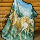 Southwestern Wild Horse Spirit Fleece Blanket Throw ERHD-Spirit