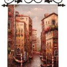 "Grand Canal Italian Tapestry Wall Hanging 42"" x 31"""