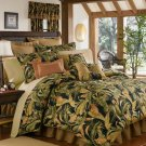 4PC Tropical Island Palms La Selva CAL KING Comforter CSKL3050