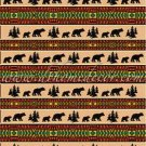 3PC Bear Adventure Southwestern Jacquard KING Bedding ERCBK-bearadvent
