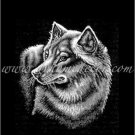 Grey Wolf Fleece Blanket Throw ERT-Wolf