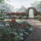 C821 Serenity European Floral Garden Wall Mural 13 x 8