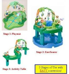 Evenflo Exersaucer Triple Fun