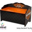 Kidkraft Harley Davidson Flames Toy Box