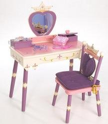 Levels of Discovery Princess Vanity Table/Chair set
