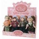"""6"""" Porcelain Boy Doll Case Pack 48"""