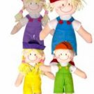 Small Boy And Girl In Overalls With Matching Hat Case Pack 192