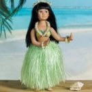 Porcelain Hula Girl Doll Case Pack 5
