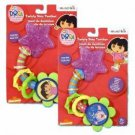 "Download image Dora the Explorer the Explorer 8"" Dora Plastic Ice Twisty Star Teether Case Pack 24"