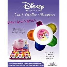 Disney Princess Roller Stamps Case Pack 144