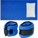 CTA Digital Balance Board Mat & Wrist/Ankle Weights for Nintendo Wii FitTM