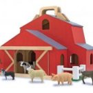 Melissa & Doug Fold & Go Barn Pretend Play