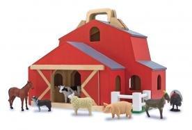 Melissa & Doug Fold & Go Barn Pretend Play