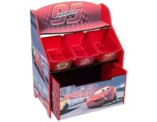 Disney Cars 3 Tier Toy Storage Unit by Delta