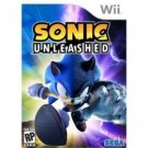 Sega Sonic Unleashed Wii