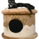 Cat House Plush 1 Story Condo Beige - brown