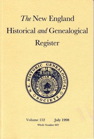 New England Historical and Genealogical Register #607