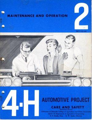 4-H Automotive Project 2: Maintenance and Operation (1964)