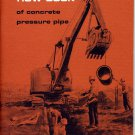 How Book of Concrete Pressure Pipe (1963)