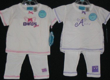 Little Dreams Infant 4 pc Sleepwear Sets /LAST 50 pc Lot