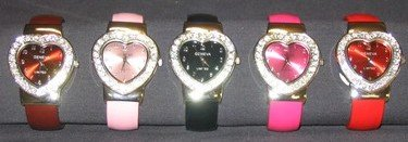 Heart Cuff Fashion Watches